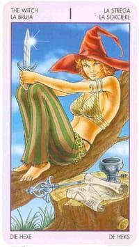Старший аркан таро Маг  (таро ведьм)