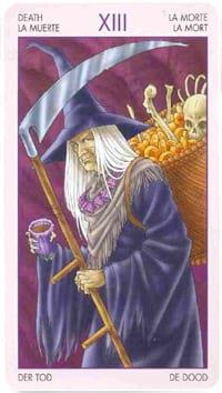 Старший аркан таро Смерть (таро ведьм)