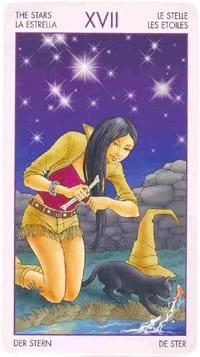 Старший ркан таро Звезда (таро ведьм)