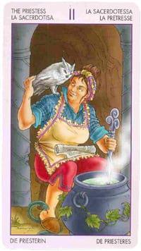 Старший аркан таро Жрица (таро ведьм)