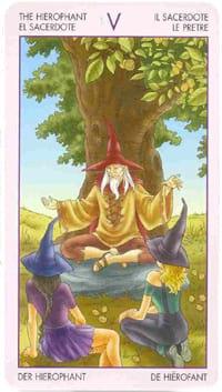 Старший аркан таро Верховный жрец (таро ведьм)